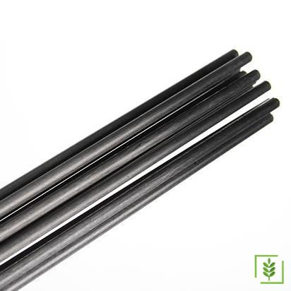 Zeytin Hasat Makinası Karbon Fiber Düz Çubuk - 5 mm 10 Adet