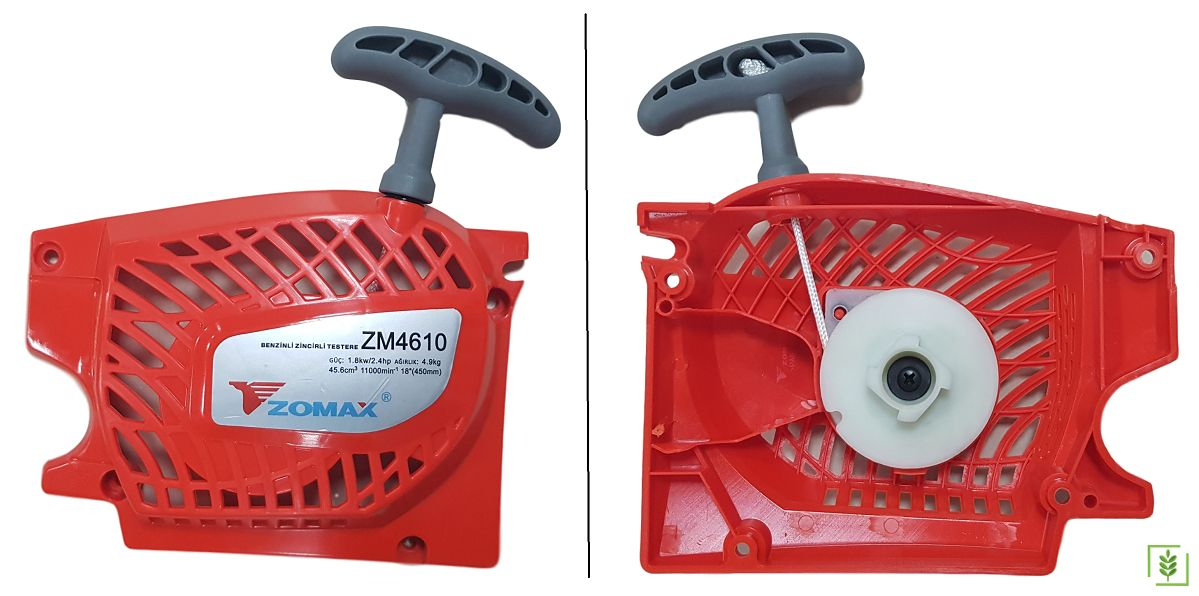 Zomax 4610, 5010, 5410 Motorlu Testere Starter Kapak Komple