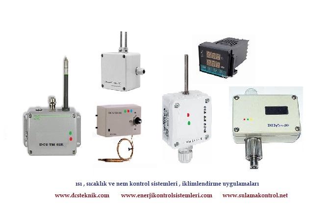 ısı ve nem kontrolü , kablolu ve kablosuz  Sıcaklık Ve Nem Algılayıcı  Prob , RF_DigTerm 1000 onClick=
