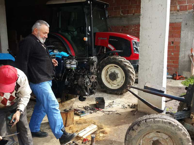 kiralık çift ceker traktor
