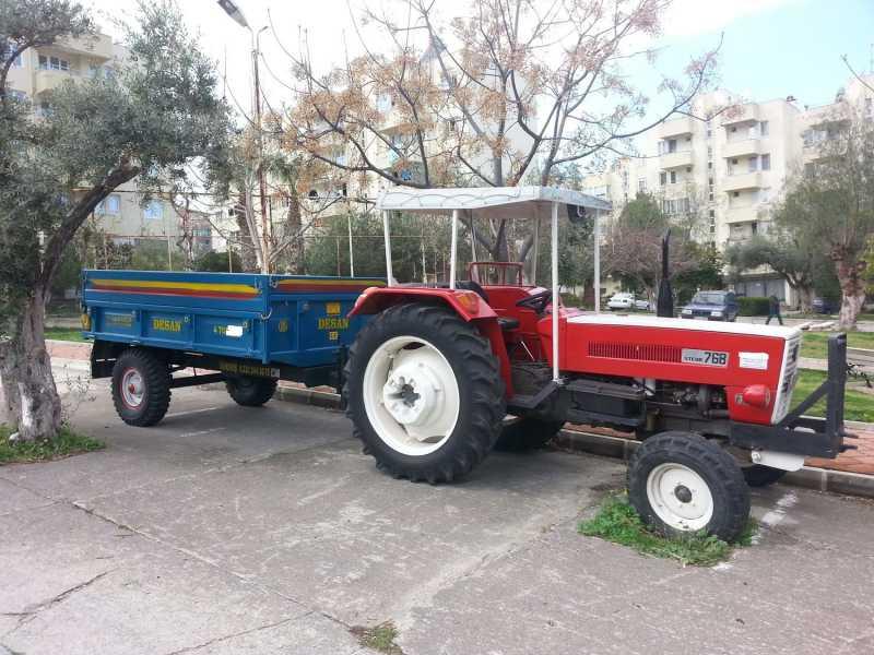 kiralık romörklü traktör