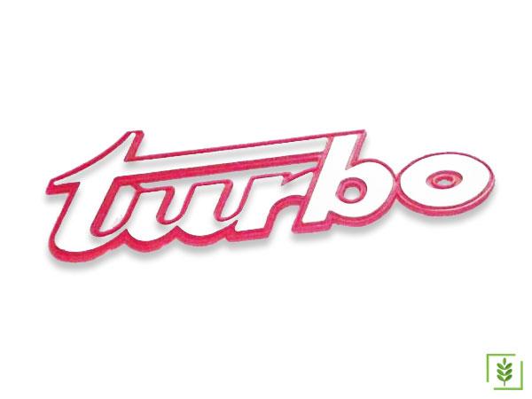 Massey Ferguson 255T Plastik Turbo Yazısı - (0011250)