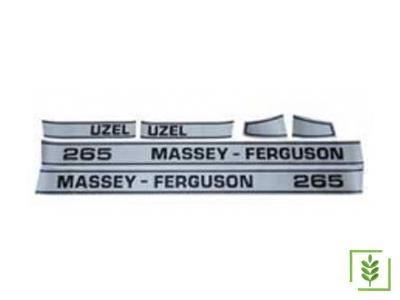 Massey Ferguson 265 Yan Yazı Takım Mat - (160837)