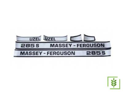Massey Ferguson 285 S  Yan Yazı Takım Mat - (160838)