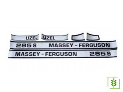 Massey Ferguson 285 Yan Yazı Takım Parlak