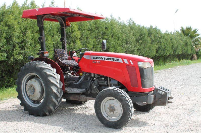 Massey Ferguson MF 2615 - 3 SİLİNDİR TENTE - 2011 - KM : 3135 - Manuel - Dizel - Araç No : 12356