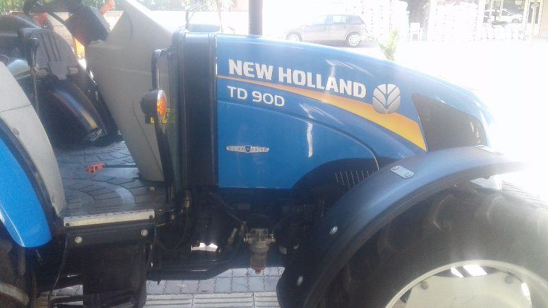 Sahibinden orijinal New Holand TD90 satılık traktör