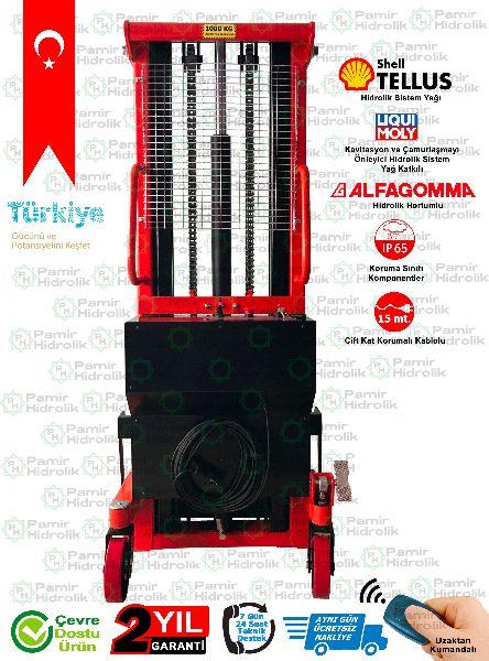 PHE-1025 Elektrikli İstif Makinası 1 Ton 2.5 Mt Ücretsiz Nakliye onClick=