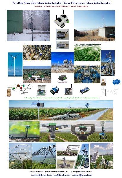Kablosuz sulama kontrol Sistemleri , Tarımsal sulama uygulamaları