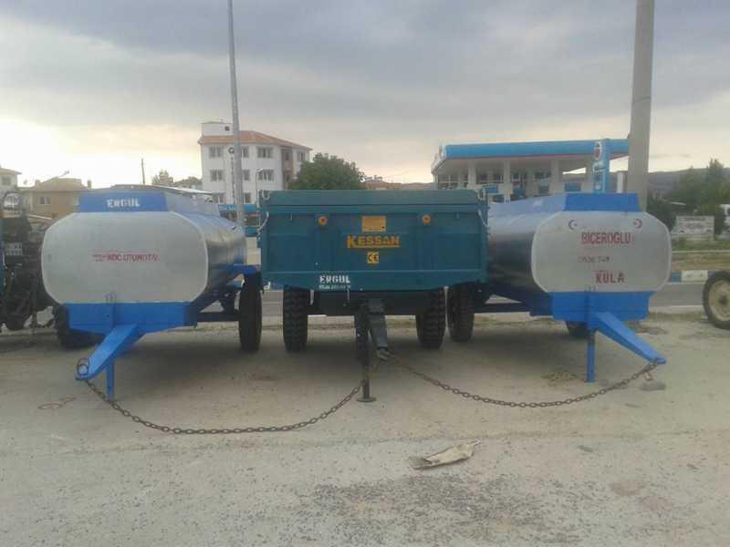 sıfır su tankeri galvaniz paslanmaz su tankerleri