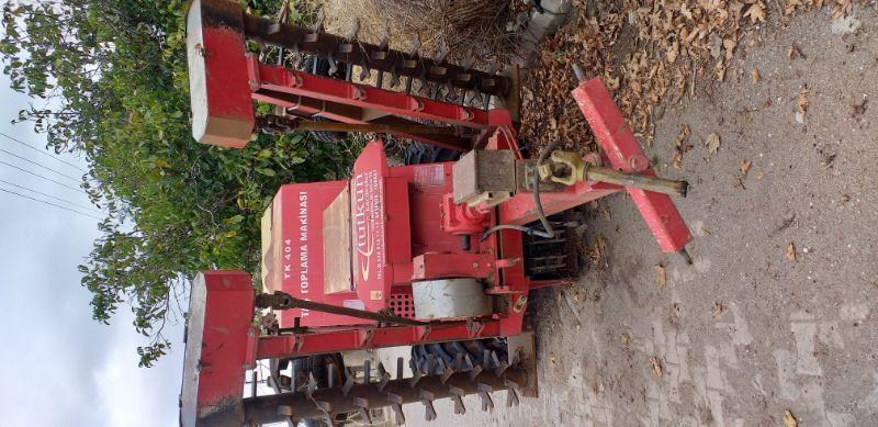 taş toplama makinası