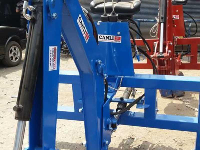 traktör arkası kazıcı yükleyici kepçe CANLI