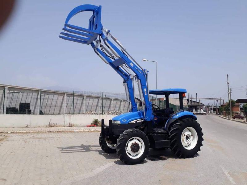 Traktör kepçe ön yükleyici imalatı CANLI