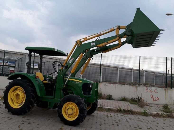 Traktör kepçe tarım ekipmanları imalatı CANLI