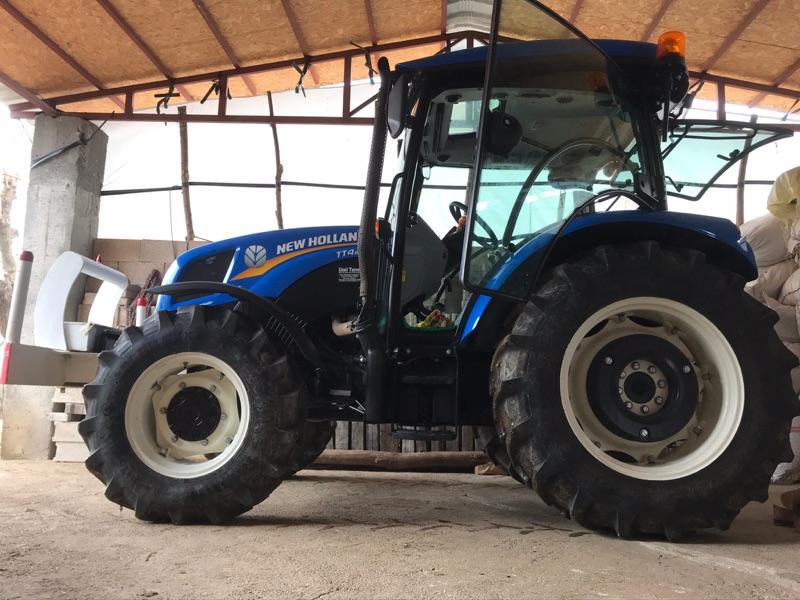 Tt4.65 New holland traktör