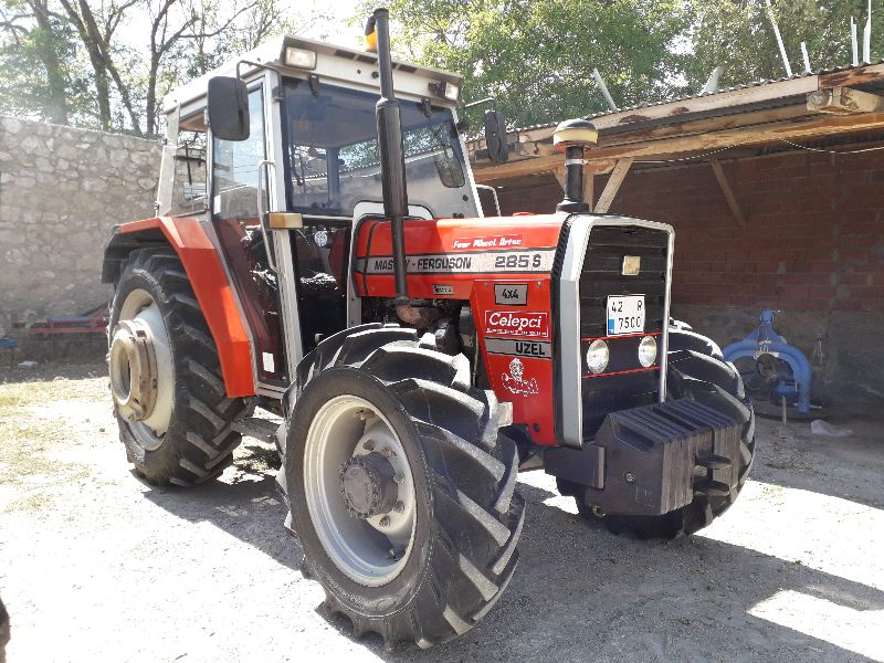 Türkiye\'de Tek MF 285S 4x4 1998 Model İkk Günkü Gibi