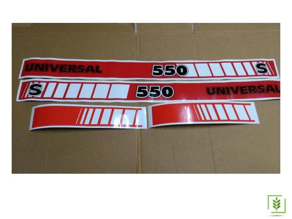 Üniversal Utb-550 Yan Yazı Takımı