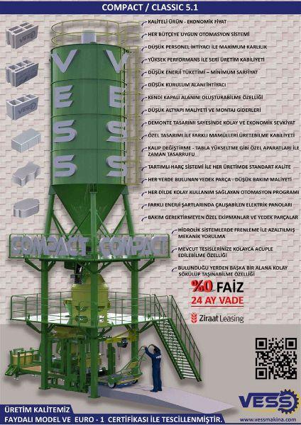 VESS COMPAKT CLASSIC 5.1 / 24 AY VADE %0 FAİZ