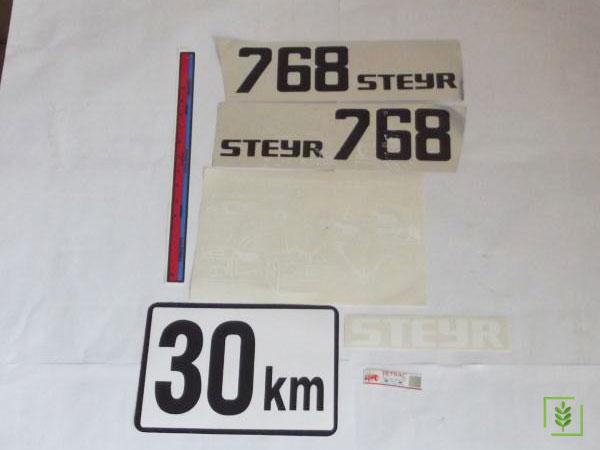Steyr 768 Yan Yazı Takım (000000043)