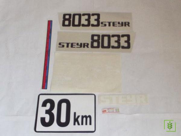 Steyr 8033 Yan Yazı Takım  (000000049)