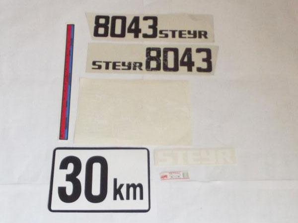 Steyr 8043 Yan Yazı Takım (000000058)