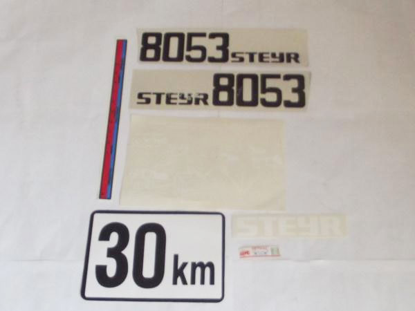 Steyr 8053 Yan Yazı Takım  (000000053)