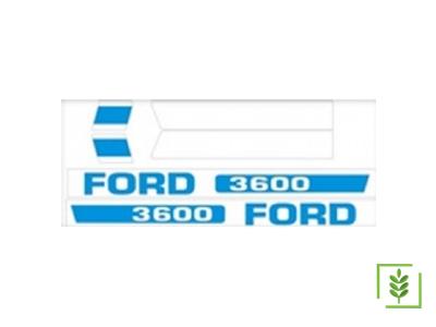 Ford 3600 Yanyazı Takım