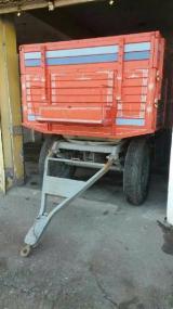 4 Tekerlekli 10 Tonluk Sıfır Römork Damperli