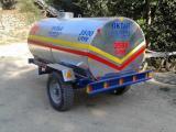 Su Tankeri Galvanizli Paslanmaz 3.5 Ton (3500 L)
