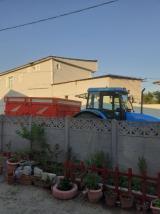 Aylık ve günlük damperli ve şöförlü traktör