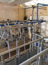 Hiç kullanılmamış 32 hayvanı aynı anda sağım yapabilecek Satılık süt sağma makinesi