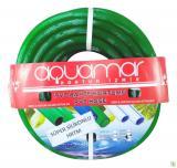 Aquamar Süper Silikonlu Şeffaf Hortum 1/2 20 mt Yeşil
