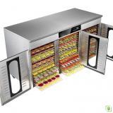 Dalle LT-019 Endüstriyel Çelik Gıda ve Meyve Kurutma Makinesi 48 Katmanlı