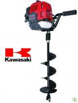 Kawasaki AUG 500 Toprak Burgu Makinası - Burgu Dahil