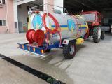 İtfaiye Tipli Yol Yıkama Arazöz Pompalı Su Tankeri 5 Ton
