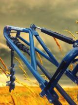 Kozan Makina Hidrolik Baskılı Toprak  Burgu Makinası