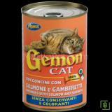 Gemon Somon ve Karidesli Kedi Konservesi 415 gr