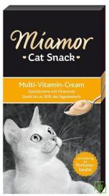 Miamor Cream Multivitamin Kedi Ödülü 6x15 gr