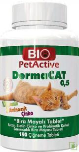 Pet Active Dermacat Brewers Yeast Sarmısaklı Tableti 150 Adet