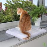 Trixie CosyPlace kedi cam önü oturma platformu 51x36cm