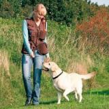Trixie Pamuk/Polyester Köpek Eğitmen Yeleği S Kahverengi