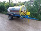 Motor Pompalı Galvanizli Paslanmaz Su Tankeri 3.5 Ton