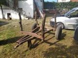orman için eğimde çalışmaya uygun 3ton luk odun römorku malkarada