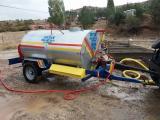 Santrifüj Pompalı Galvanizli Paslanmaz Su Tankeri 3.5 Ton 3500 L