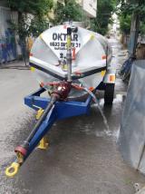 Traktör Kuyruk Milli Şaftlı Su Tankeri Galvanizli 2,5 Ton