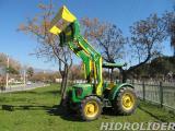 traktör ön yükleyici kepçesiyle birlikte satılık HİDROLİDER