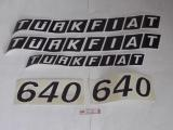 Fıat 640 Yan Yazı Takım - (4999871)