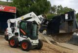 Trencır başlıklı, asfalt kazıcı, bobcat 2014 model