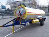 Yağmurlama Yapan Santrifüj Pompalı Traktör Su Tankeri 6 Ton